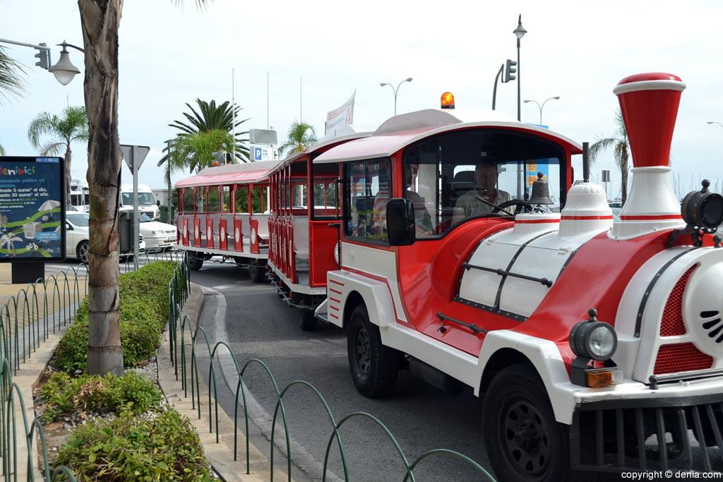 Locomotora Trenet Turístico Dénia