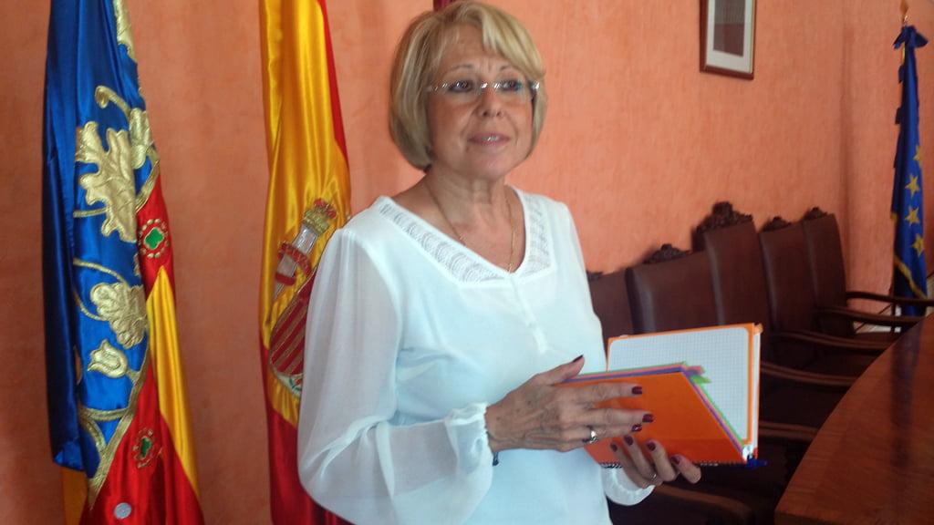 Mari Martínez - concejala Dénia