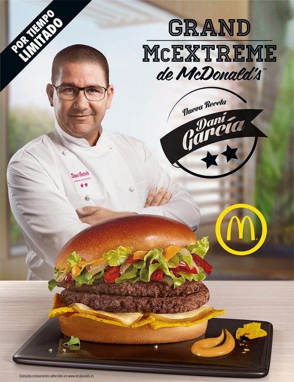 McDonald's Dani García