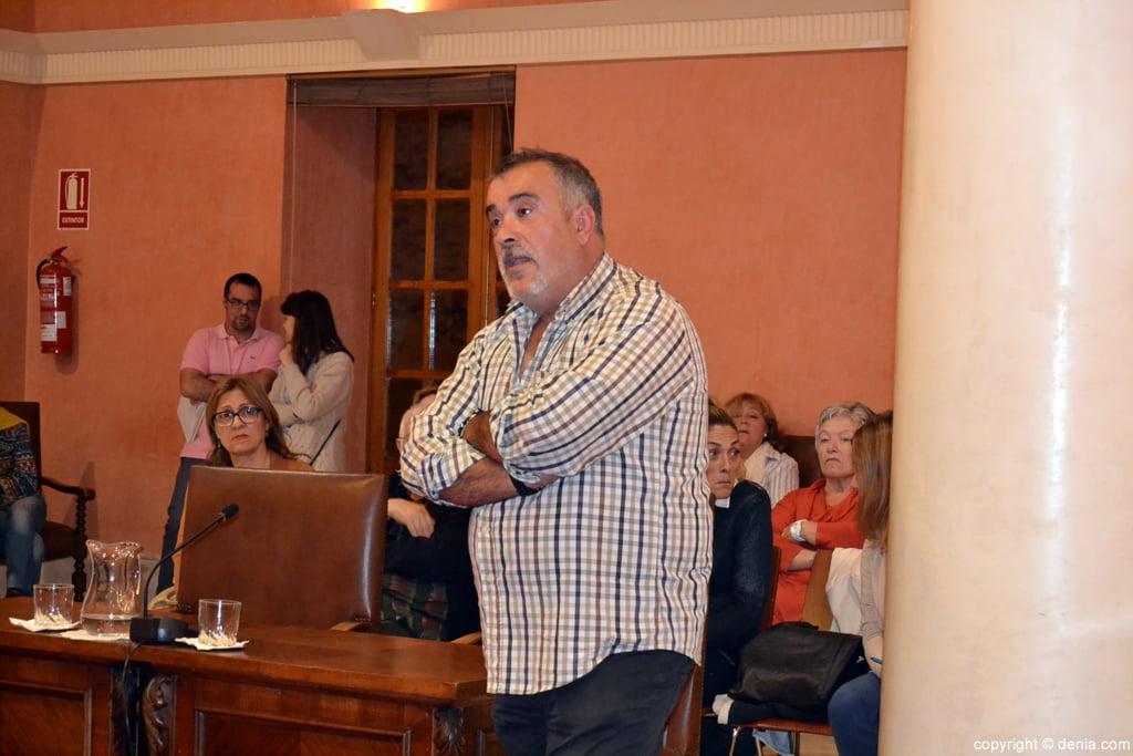Paco Raskasa in plenary Denia