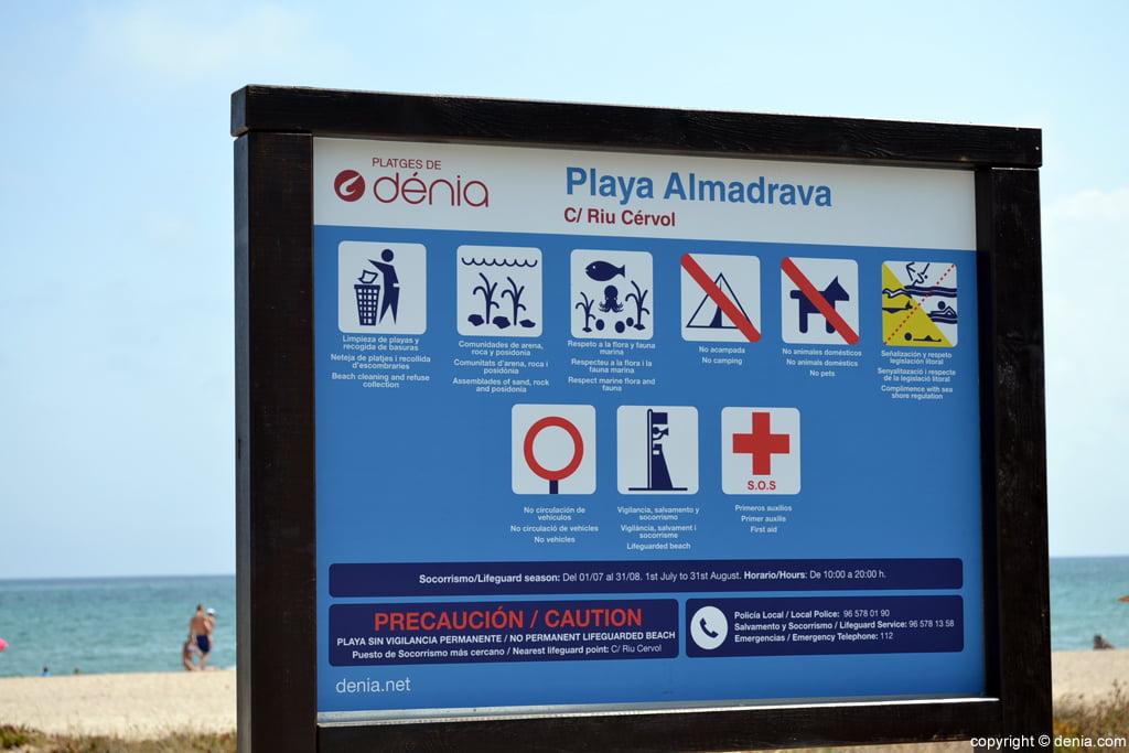Playa Almadrava Dénia