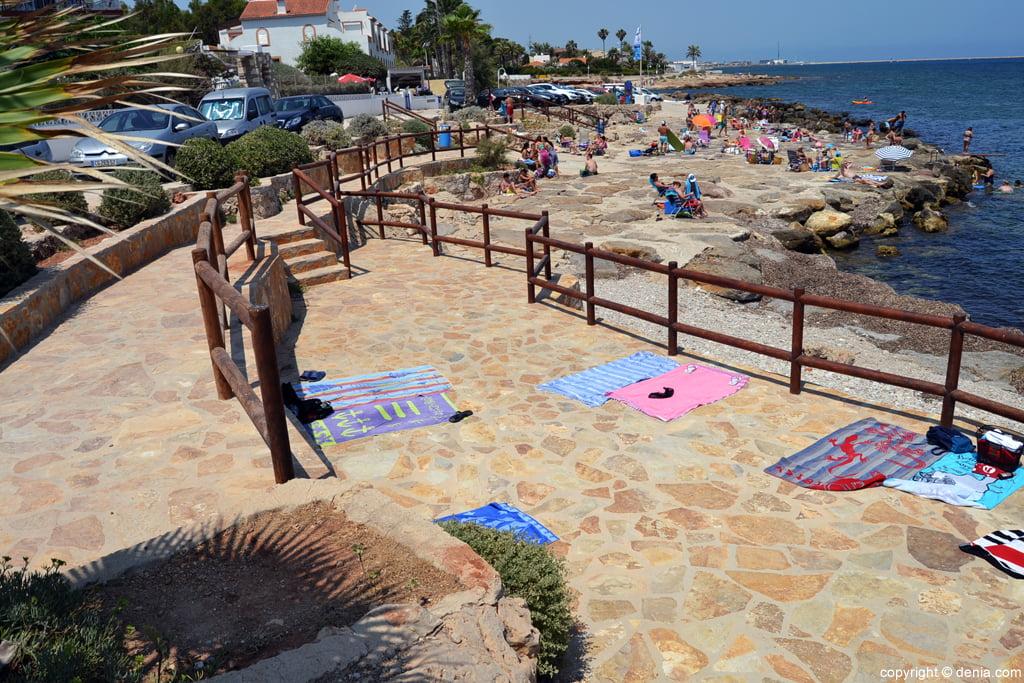 Playa El Trampolí Dénia