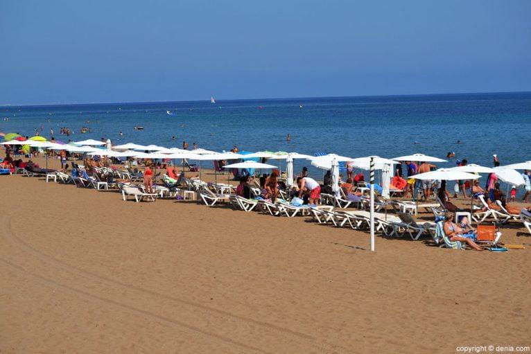 Playa Les Bovetes - Les Marines