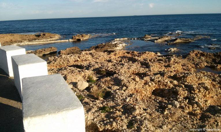 Playa Les Rotes - Arenetes
