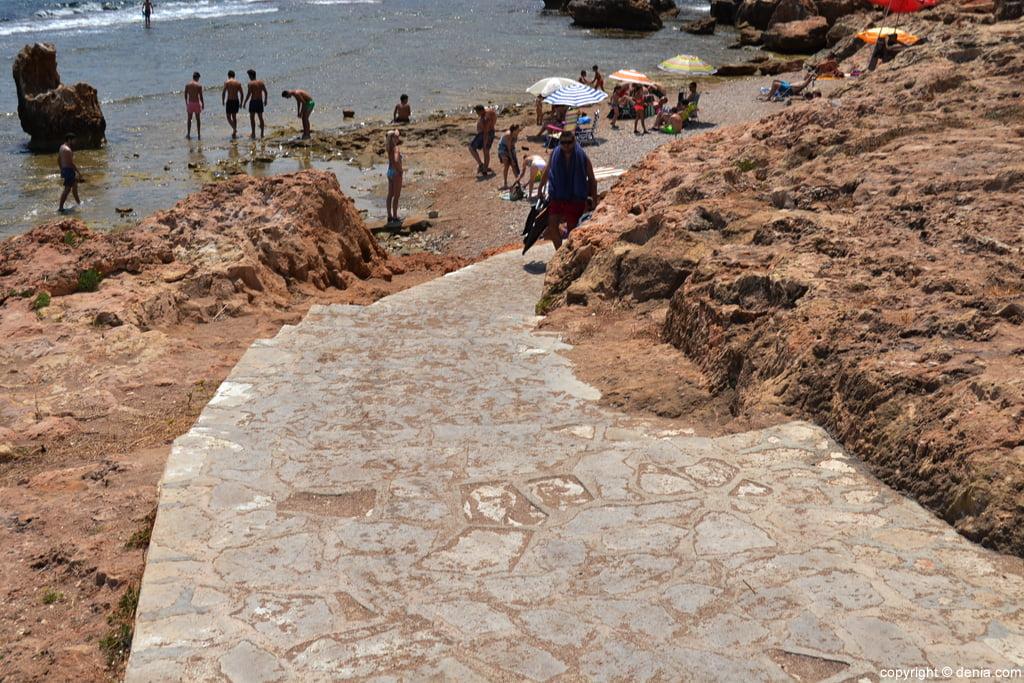 Playa de Les Rotes – Arenetes