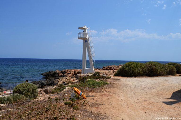 Playa del Trampolí Dénia