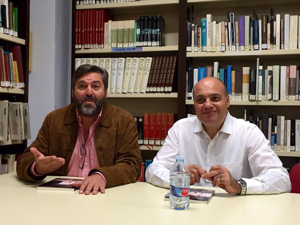 Presentación del libro de Manel Arcos en Dénia