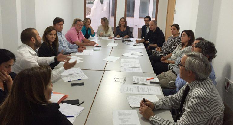 Reunión de la Junta Directiva de CEDMA