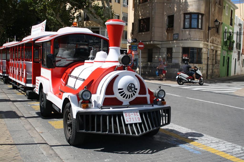 Trenet turístico Dénia Marqués de Campo