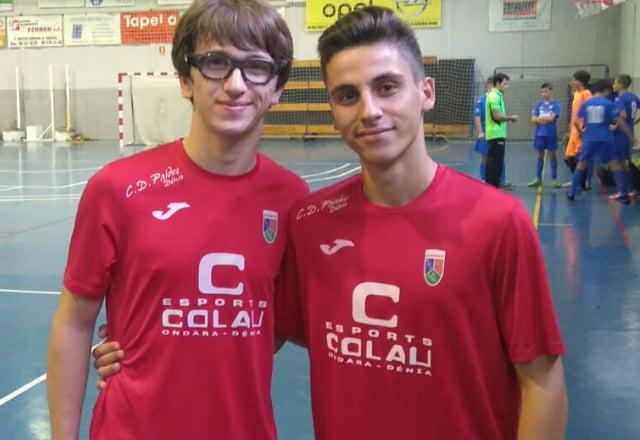 Paidos cadets Daniel Ferrer and Álvaro Escrivà in Valencia team ... f1da7c70c87ff