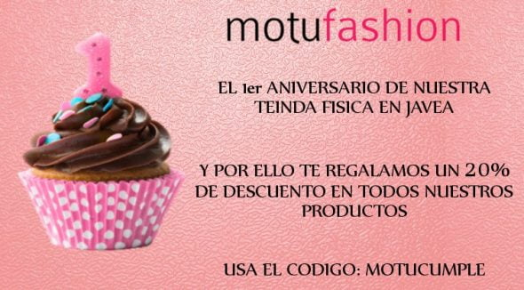 Aniversario Motufashion