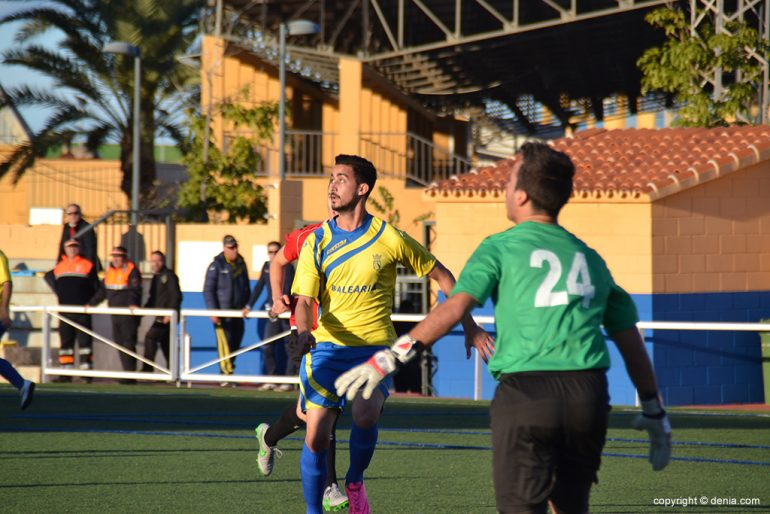 Borja goalscorer in Gandia