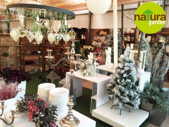 Candelabros Navidad Natura Garden