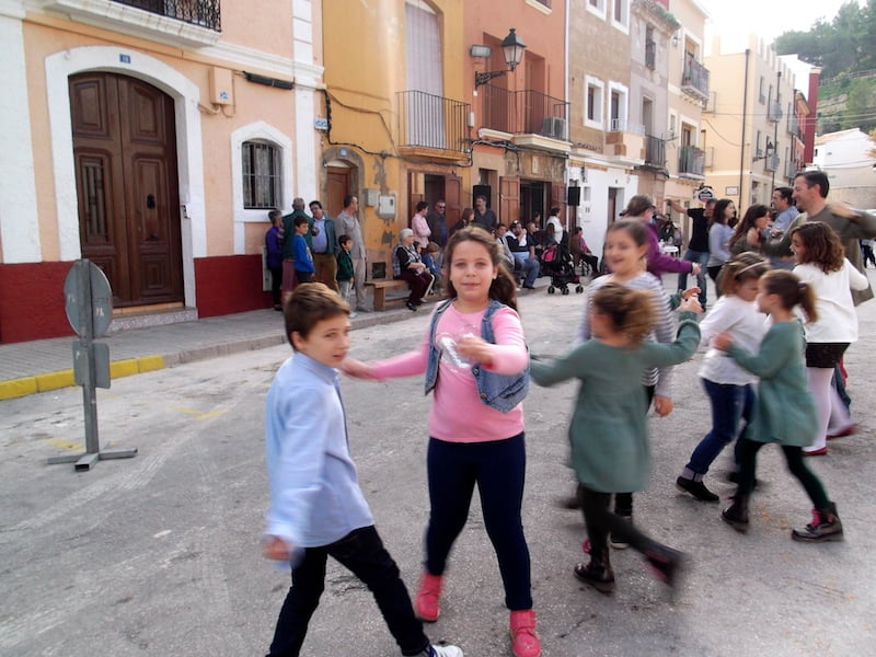 Children dancing charges