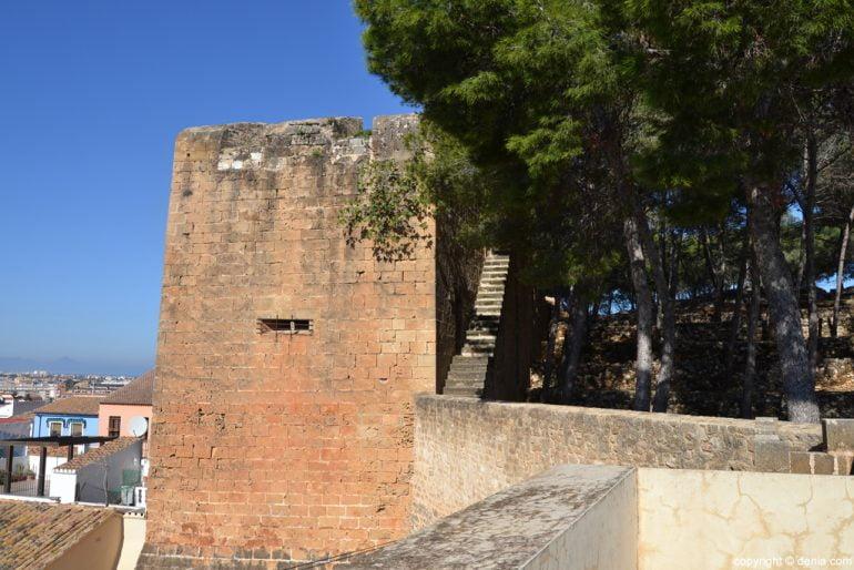 Castell de Dénia - La Torre Roja
