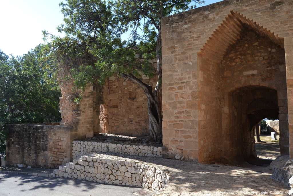 Castell de Dénia – Portal del Baluard