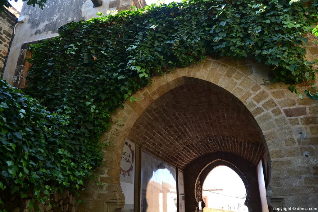 Castell de Dénia – entrada