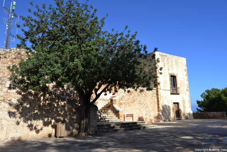 Castell de Dénia - esplanada de l'governador