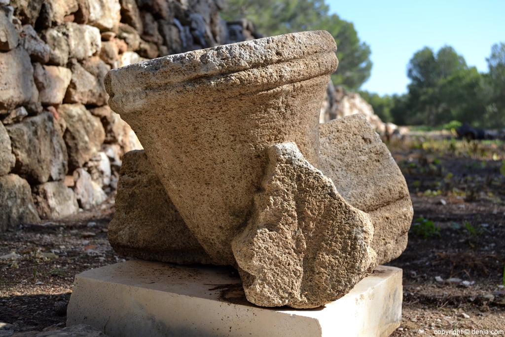 Castell de Dénia – restos arqueológicos