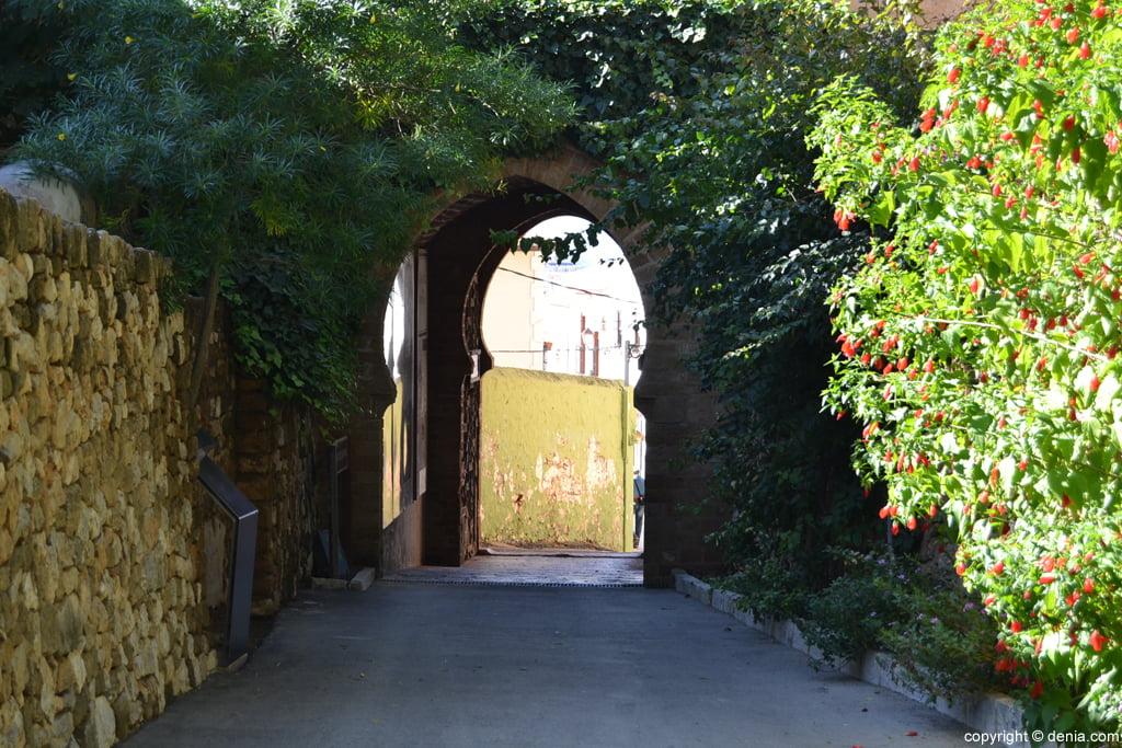 Castillo de Dénia – Acceso