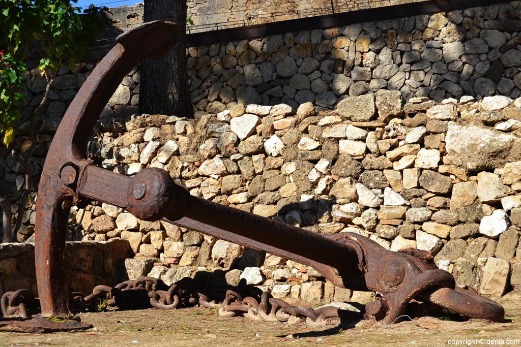 Castell de Dénia - Àncora