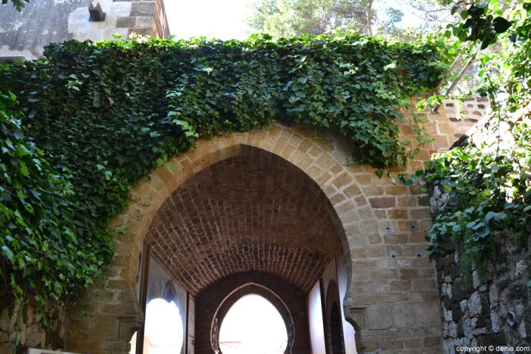 Castillo de Dénia - Entrada