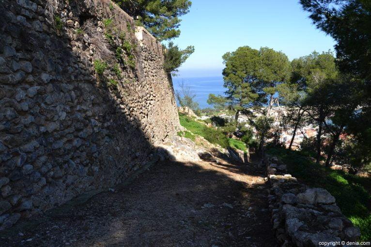 Castillo de Dénia - Muralla del Siglo X