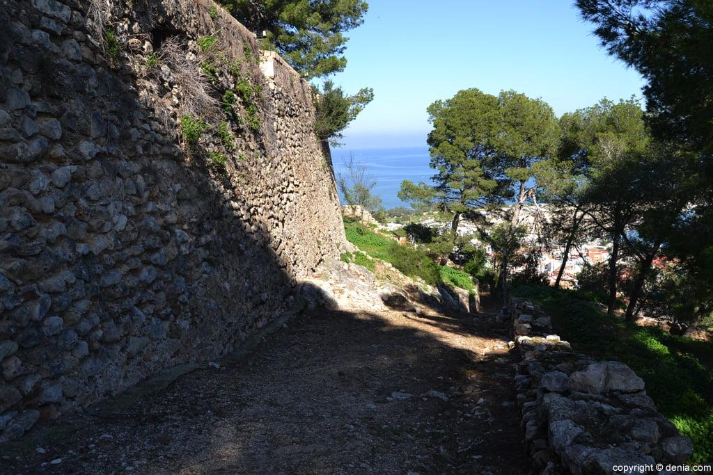 Castell de Dénia - Muralla del Segle X
