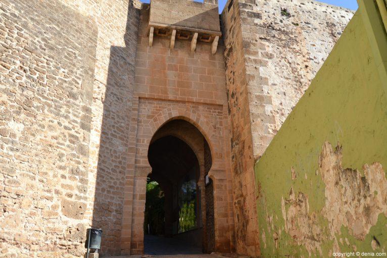 Castell de Dénia - Portal de la Vila