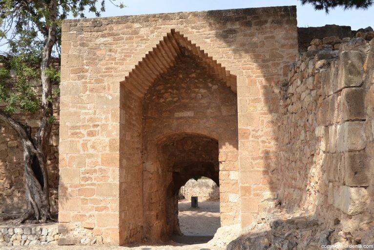 Castillo de Dénia - Portal del baluard