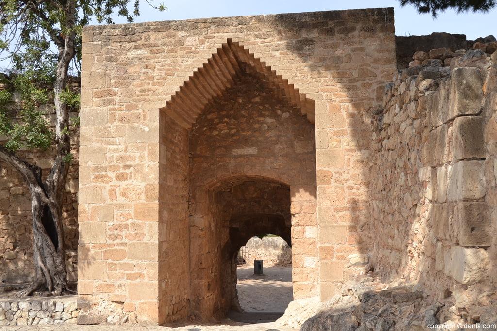Castell de Dénia - Portal d'el baluard