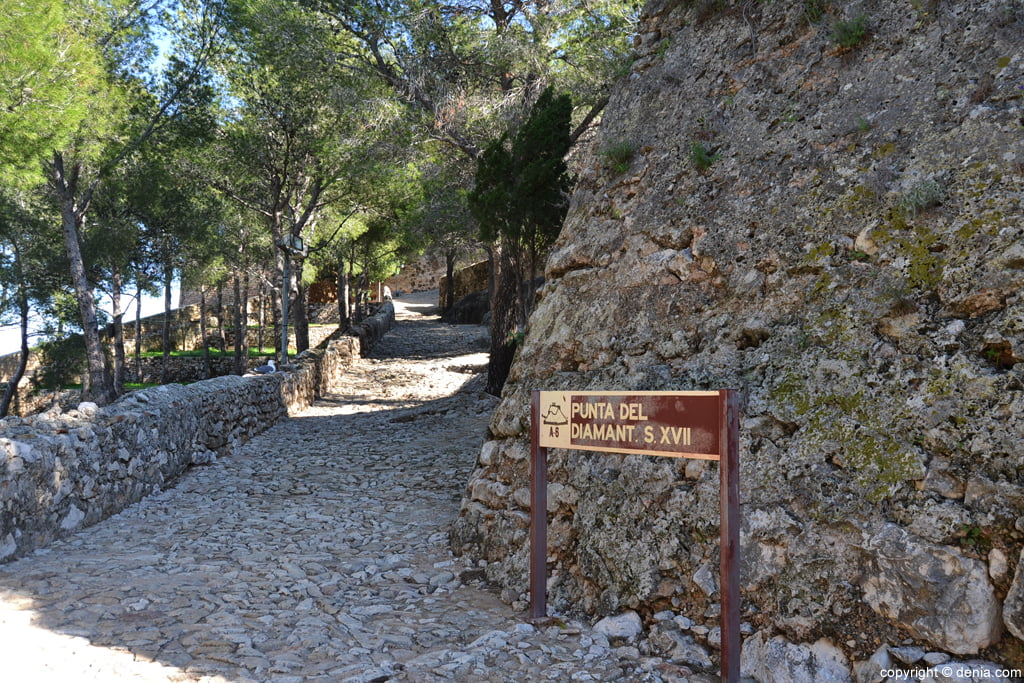 Castell de Dénia - Punta de Diamant