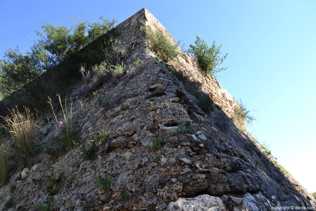 Castell de Dénia - Punta de l'Diamant