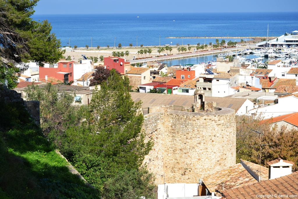 Castell de Dénia - Torre de l'Galliner