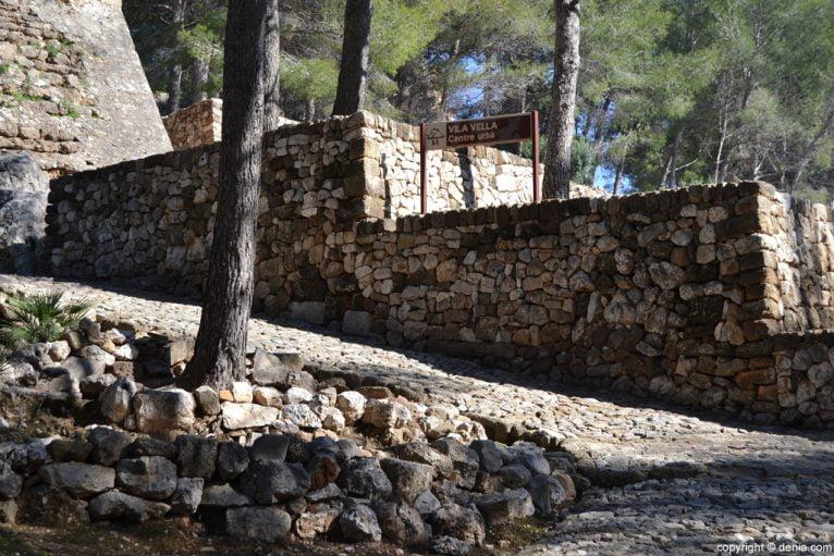 Castillo de Dénia - Vila Vella - Centro urbano