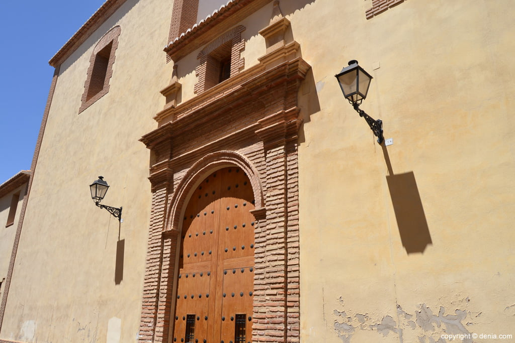 Convento de las Agustinas – acceso