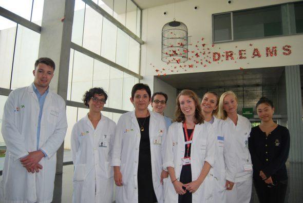 Estudiantes Erasmus en el Hospital de Dénia