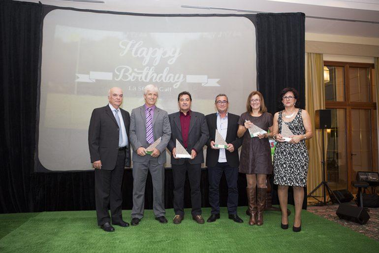 Anniversary Gala honorees at La Sella Golf