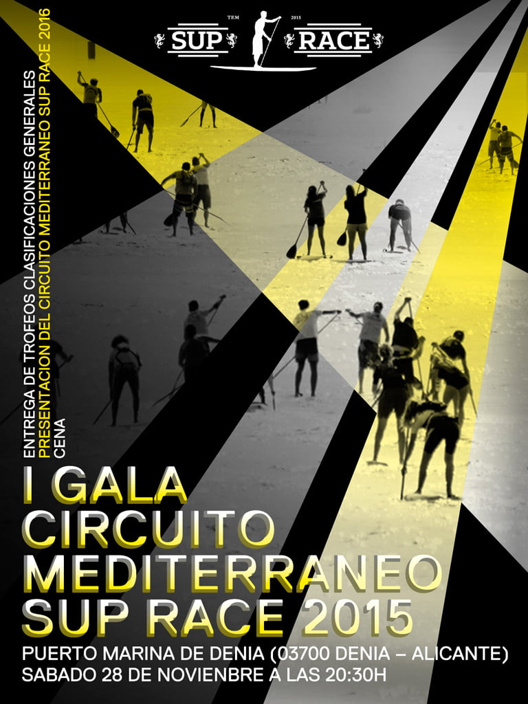 I Gala Circuito Mediterráneo Sup Race 2015