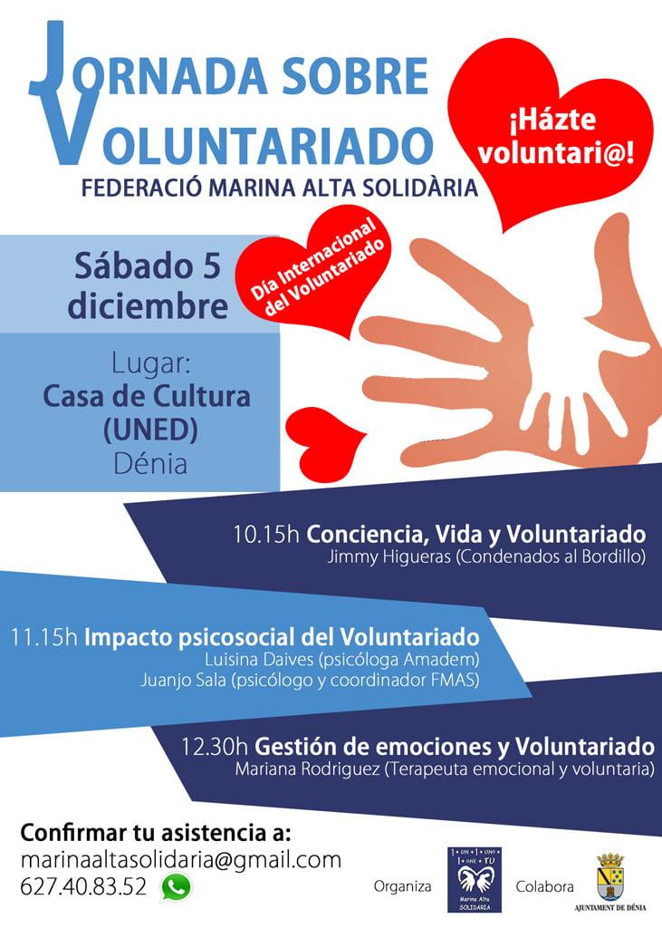 Jornada sobre voluntariado en Dénia