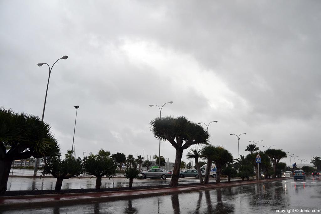Rain in Dénia