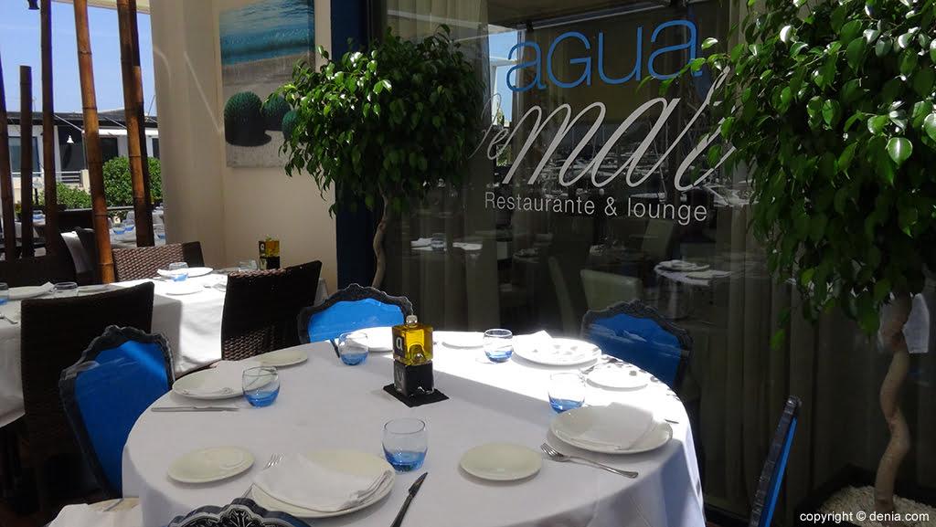Men s de navidad y fin de a o restaurante agua de mar - Restaurantes para fin de ano ...