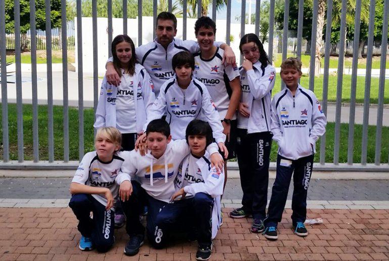 Nadadores del CN Dénia en Torrevieja