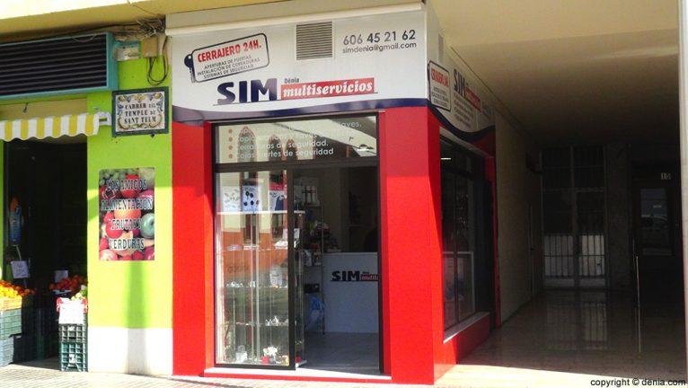 SIM Multiservicios tienda