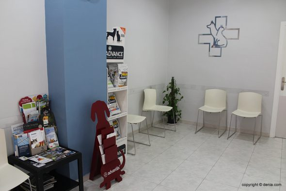 Veterinary clinic waiting room Saladar