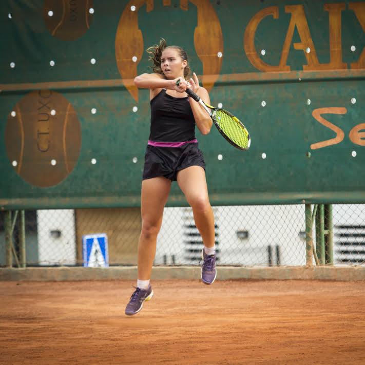 Silvia Bordes durante un partido
