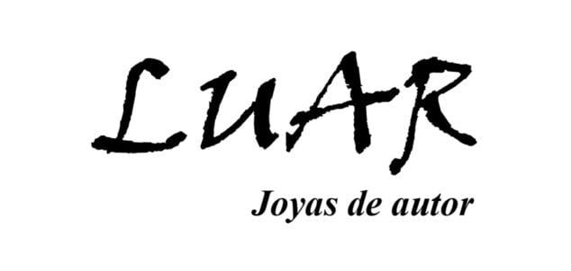 Imagen: Logotipo de LUAR, joyas de autor