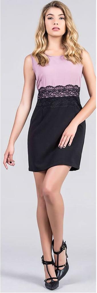 Vestido falda negra La Lola