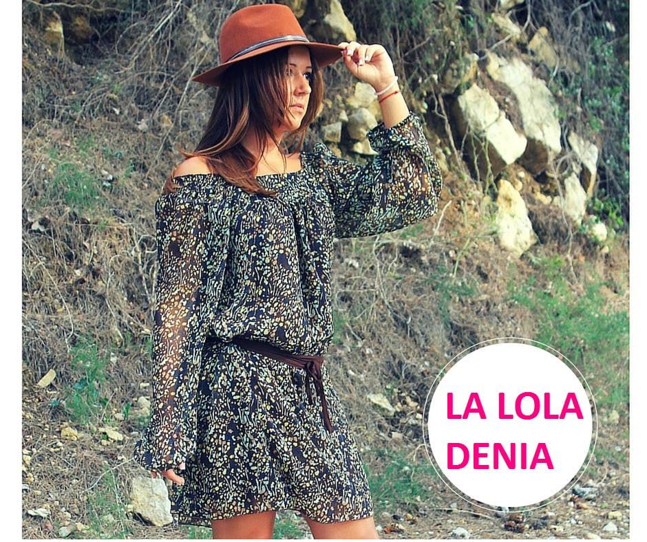vestido floreado La Lola