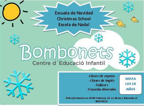Bombonets abiertos en Navidad